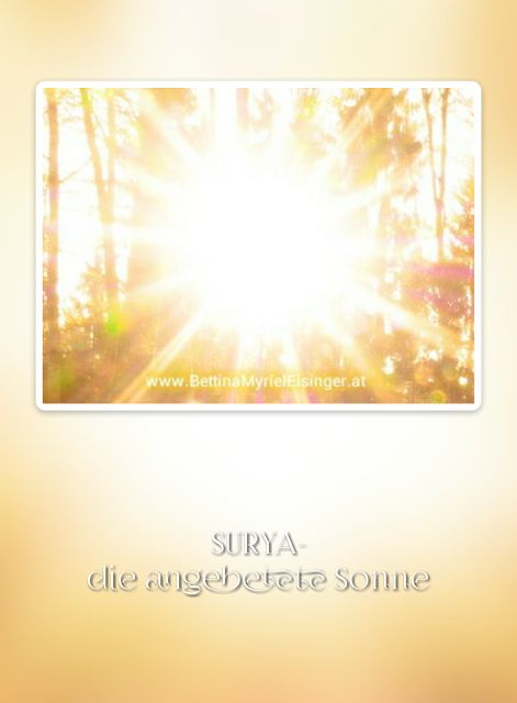 Bettina Myriel Eisinger: ♥Affirmation/Anrufung...3.9.2016♥
