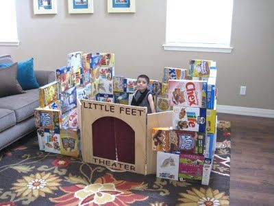36 best Cereal Bo images on Pinterest | Cereal bo, Desks and ... Cereal Box House Designs on cardboard box house, cracker box house, waffle box house, making house,