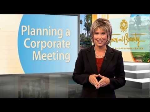 Planning a Corporate Meeting