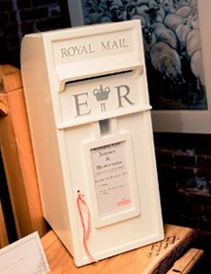 Wedding Post Box Royal Mail Style Handcrafted And Available For Hire Littleenglishwedding