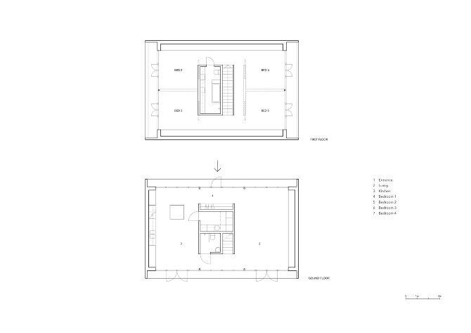 Claesson koivisto rune plus house thisispaper magazine for Floor plan magazines