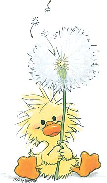 duck and dandelion wishes