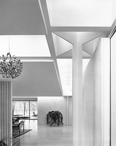 Eero Saarinen's Miller House, Columbus, Indiana. 1957