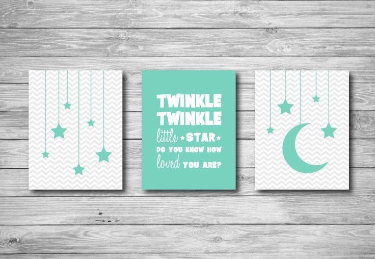 Nursery Wall Art - Twinkle Twinkle Little Star Do You Know How Loved You Are Chevron Quote 8 x 10 by CeceandCoco on Etsy https://www.etsy.com/listing/198482076/nursery-wall-art-twinkle-twinkle-little