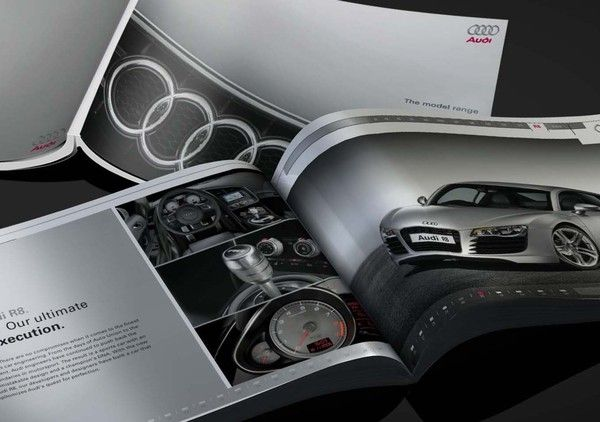 Brochures Brochure Design And Audi R8 On Pinterest