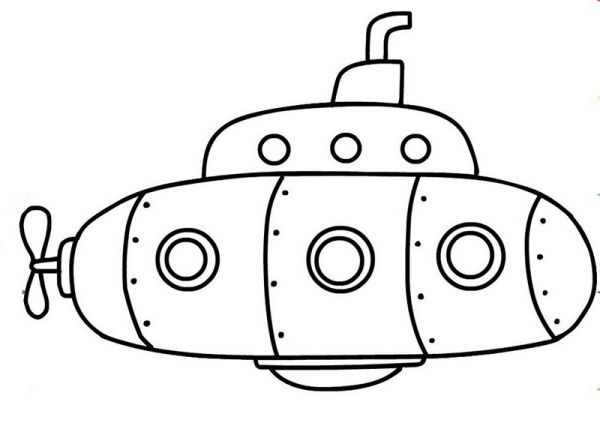 Free Submarines Coloring Pages Coloring Sheets Coloring Pages Submarine Drawing
