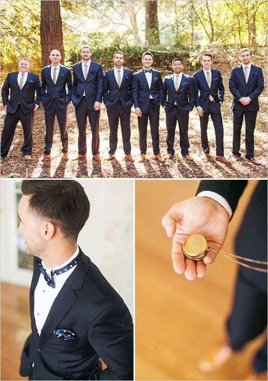 Groom & Groomsmen in Colour  - Blue Top Five Grooms & Groomsmen Trends for 2014
