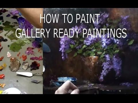 How To Paint Gallery Ready Paintings - Advance Still Life Course trailer video - to learn more about this still life painting course: http://www.oilpaintingworkshop.com/advance-still-life-course.htm