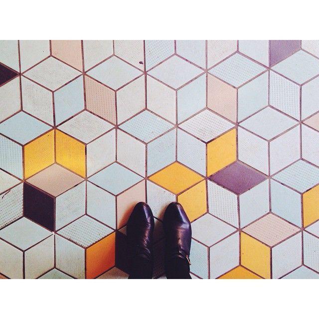 """ #ihavethisthingwithfloors #pattern #floor #freehold #wiiliamsburg #brooklyn"""