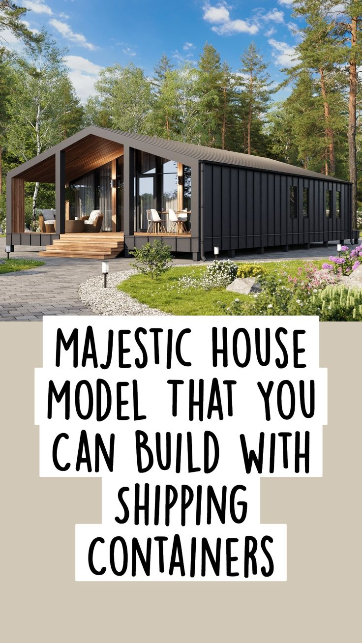 Cargo Container Homes, Shipping Container Home Designs, Building A Container Home, Container Buildings, Container House Design, Shipping Containers, Tiny House Design, Prefab Homes, Tiny Homes