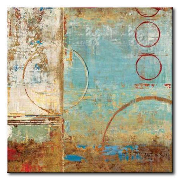 dol composition i cuadro abstracto lineas y circulos