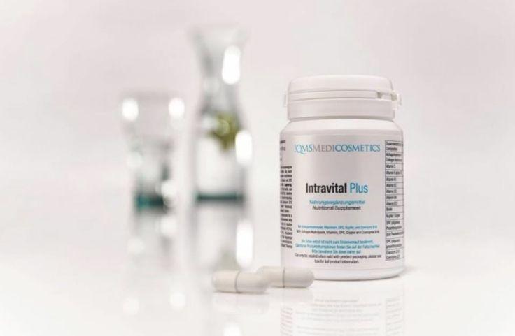 QMS Medicosmetics Intravital Plus collageen supplementenQMS Intravital Plus supplementen voor de verzorging met collageen, antioxidanten en vitamines van binnenuit. Naast de uiterlijke verzorging is ook de innerlijke verzorging belangrijk voor een mooie en gezonde huid.