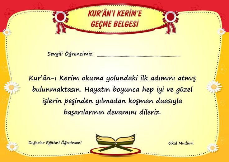 Kurana_gecme_sertifikasi
