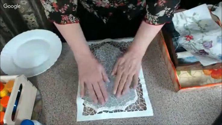 Имитация плоской мозаики Наталья Большакова Университет Декупажа