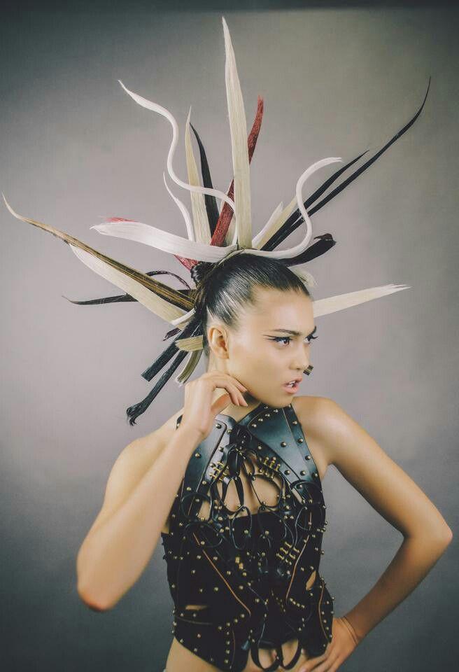 Bleep Magazine January 2014 Hair & Makeup: Walter Fuentes Model: Diana Carl Styling: Juan Lerma Photo: Amanda Williams