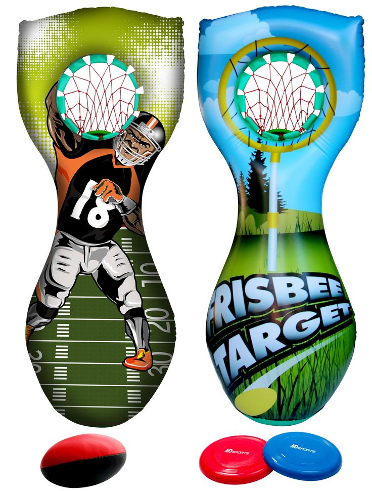 MD Sports Inflatable Football Player Shooting Game