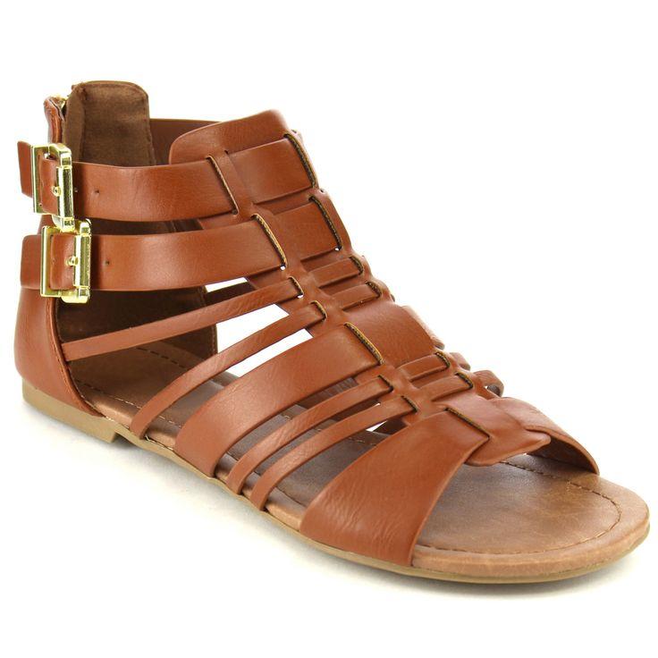 Gladiator Flat sandals (Dark -5.5) Women's