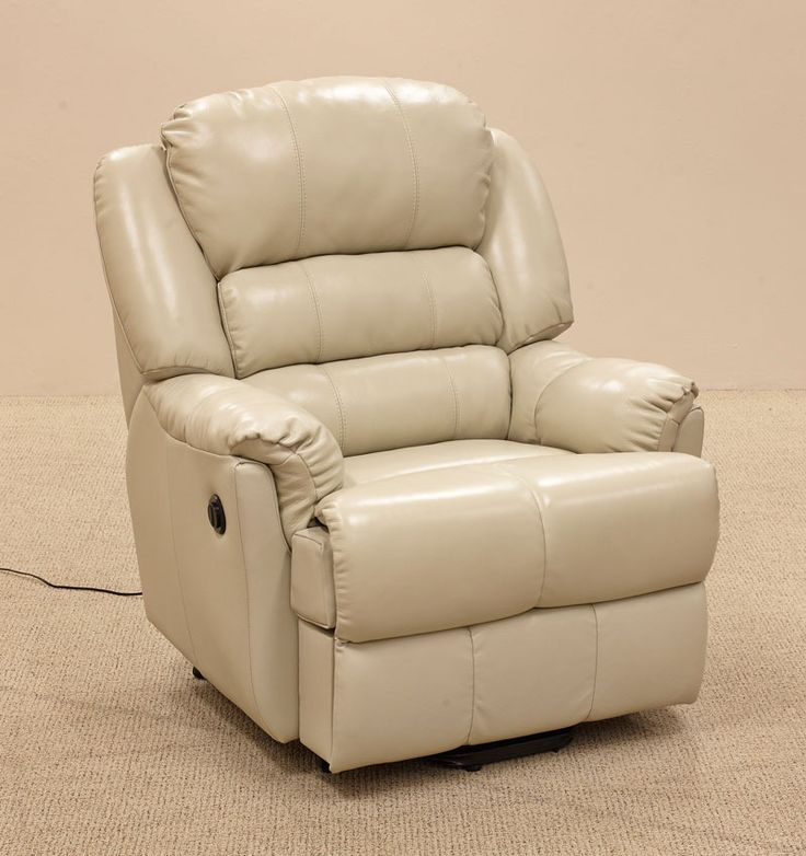 Recliners : Stan Leather Electric Lift Chair - B51