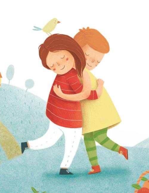 Friendship by Alessandra Psacharopulo, via Behance