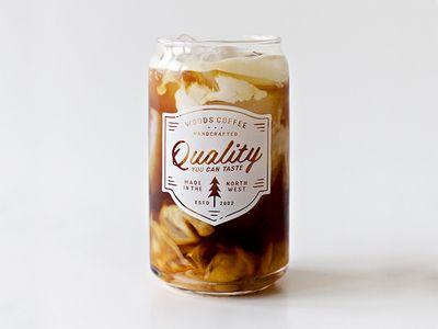 Cold brew Pint Glass Design