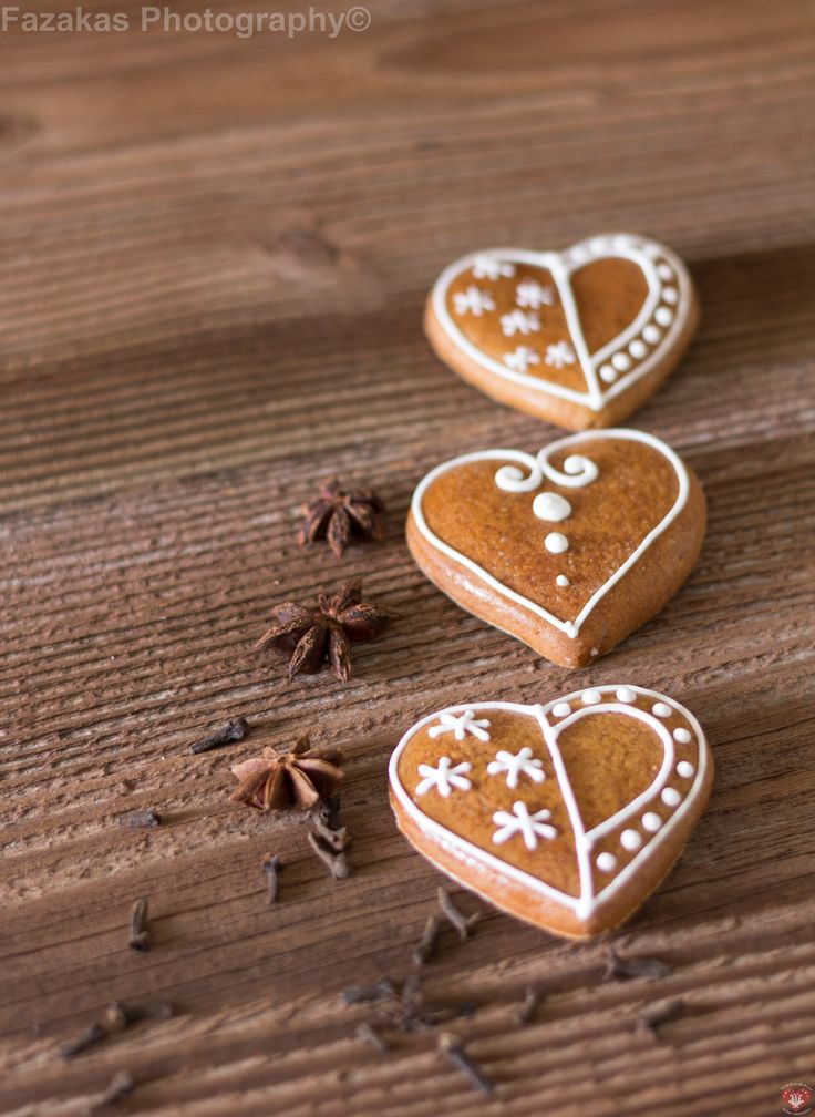 Heart, cookie, gingerbread
