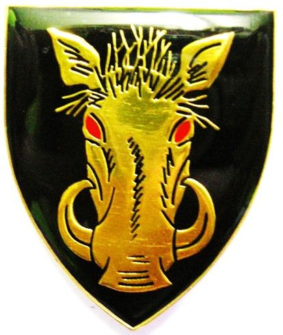 Insignia of SMG - Also used by 116 Bn in 1984/85