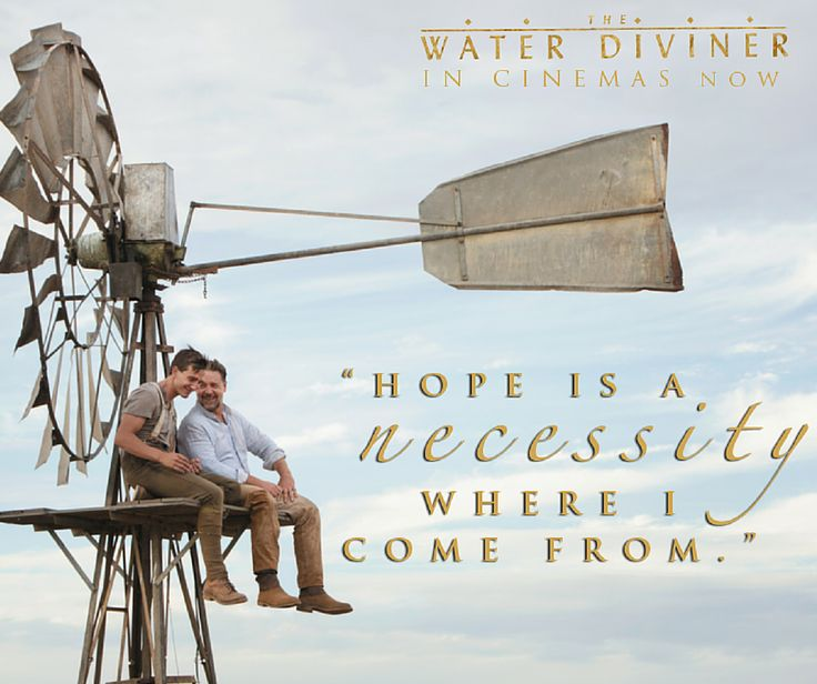THE WATER DIVINER is out on home entertainment in Australia on March 19. Yours to own on Blu-ray, DVD and Digital.