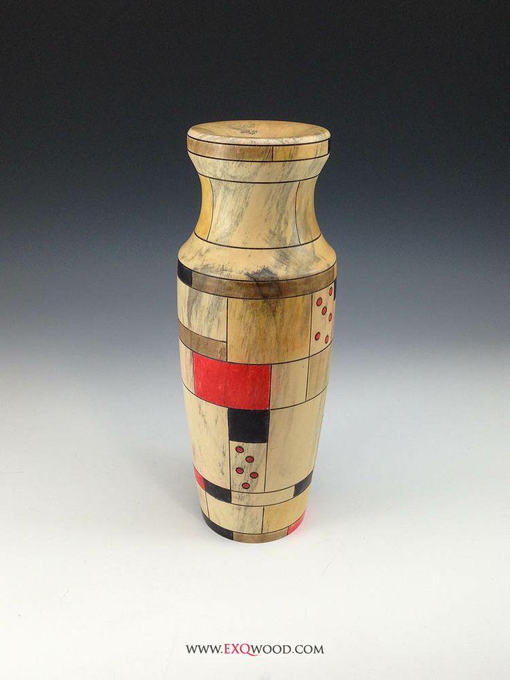 71 best ceramics based on architecture images on pinterest for Mondrian vase