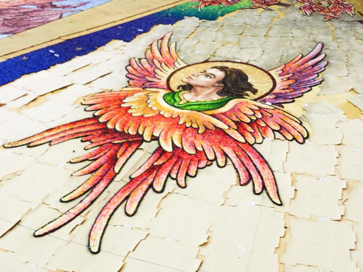 Pieces of Marvel. The Mosaic maker in Little #Athens of #Tuscany