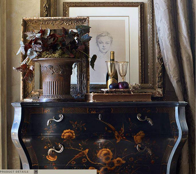 Heiress Painted Bombé Chest   Chests / Mirrors   Furniture   Products   Ralph  Lauren Home