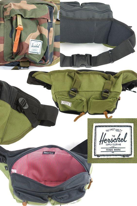 FIRST LINE | Rakuten Global Market: Herschel Supply ハーシェルサプライ EIGHTEEN WAIST PACK Hip Pack Men's Lady's eighteen waist bag waist pouch bag 3...: