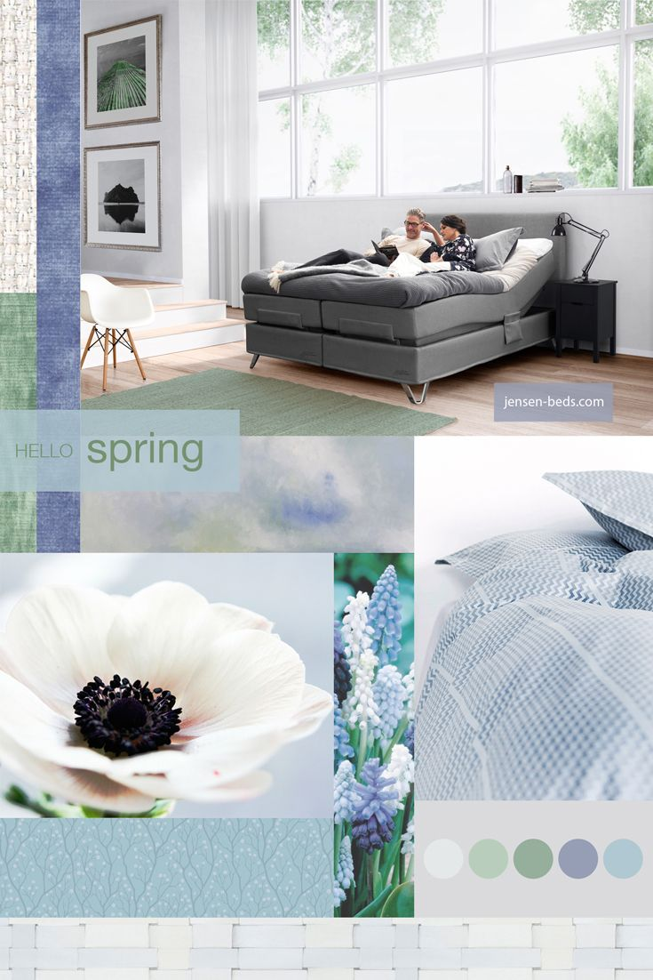 Spring is here in Scandinavia! It's a sign of renewal and what's better than thinking about the renewal of your bedroom and a new bed? Take a look at our website and see which bed will fit best for your needs. Photo: http://jensen-beds.com/ https://hoie.no http://www.borge.no/ http://anettewillemine.com/ https://www.designersguild.com/ http://anettewillemine.com/