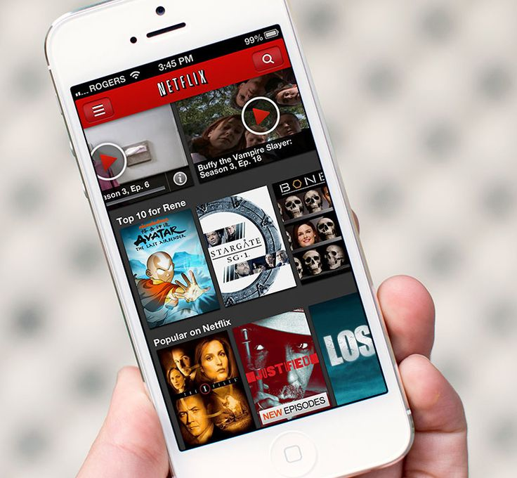 "Netflix is ""my favorite source of binge watching material,"" says Pinterest's @ryancshih."