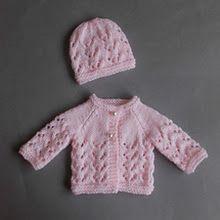 Preemie Baby Set# free # knitting pattern link here