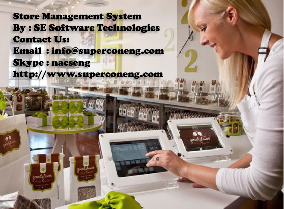 Point Of Sales (POS) Software - Store Management System Point Of Sales (POS) Software AND Store Management System Provide by SE Software Technologies in Pakistan. Look forward to your positive reply with our services. http://www.superconeng.com/portfolio Skype: nacseng