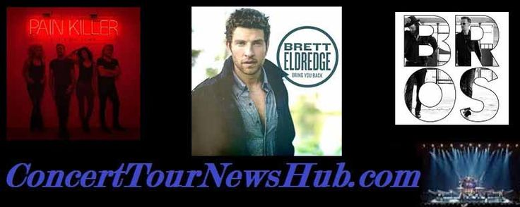 Brett Eldredge 2015 Tour Schedule & Concert Tickets: Eldredge Joins Little Big Town Pain Killer & Darius Ruckers' Southern Style Tours With Brothers Osborne