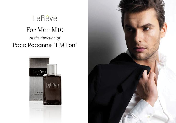 Le Reve Perfume | For Men M10 in the direction of Paco Rabanne The One