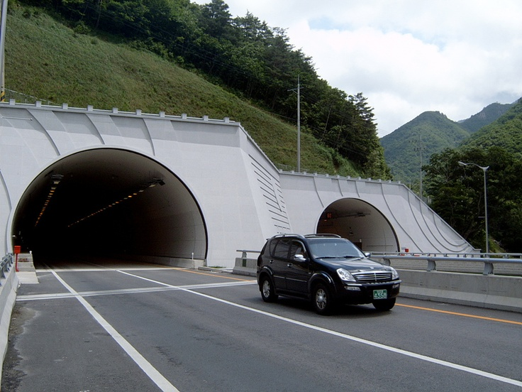 Misiryeong Tunnel, Sokcho, Korea