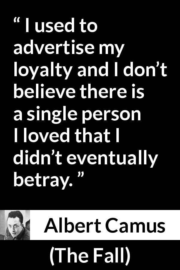 Image result for The Fall albert camus quote