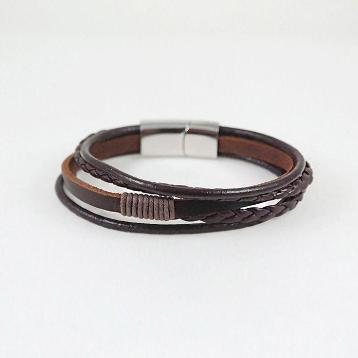 Arthur Cuff / brown leather