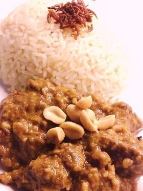 malaysian beef rendang  ビーフレンダン 美味しいマレーシア料理