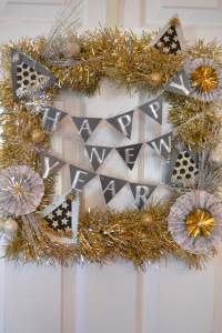 Happy New Year Wreath!