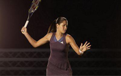 壁紙をダウンロードする ラケット, テニス, ana ivanovic, スポーツ, チャンピオン, wta