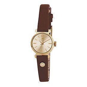 9321993 - Radley Ladies' Brown Strap Watch