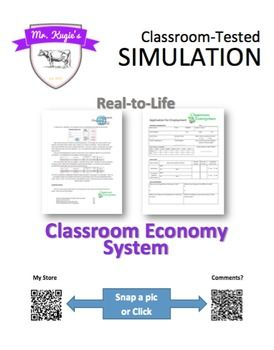 A class simulation to understand the economic system