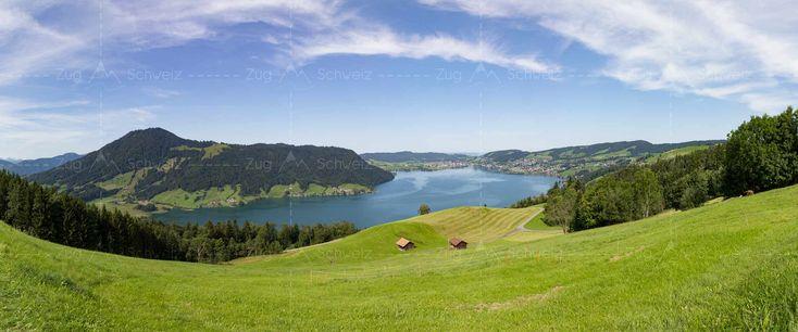 #Oberägeri, #Unterägeri und #Ägerisee im #KantonZug in der Schweiz (Switzerland)