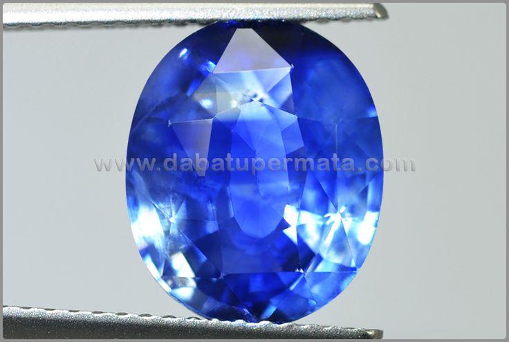 Batu Permata Royal Blue SAFIR. Sri Lanka - BSC 095