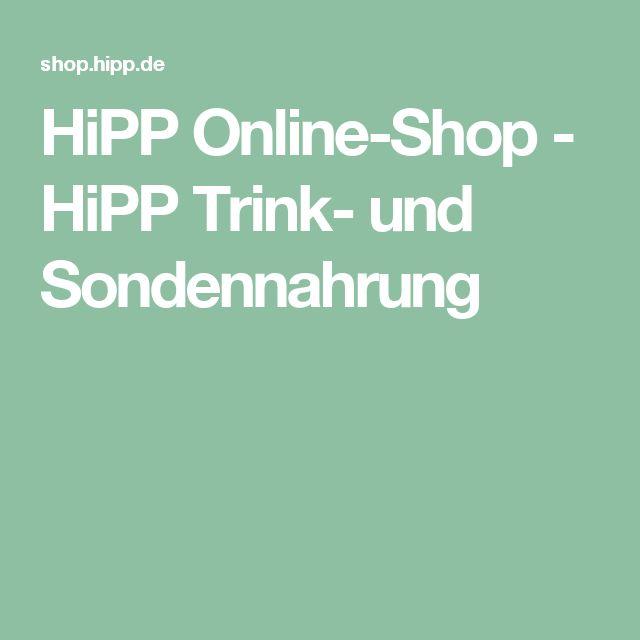 HiPP Online-Shop - HiPP Trink- und Sondennahrung