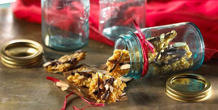 Rice Krispies® Toffee Crunch – Haz unas cuantas tandas de estos crujientes bocadillos; son un regalo ideal para amigos y familiares.