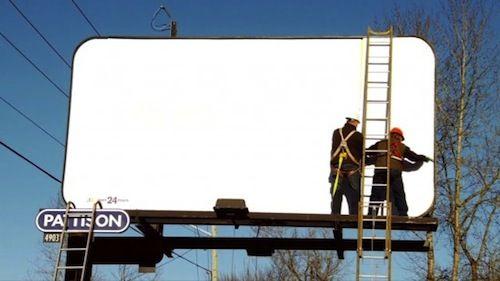 McDonald's Creates Billboard Visible Only At Night